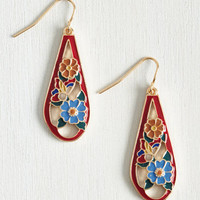 Wherever the Wind Nouveaus Earrings by ModCloth