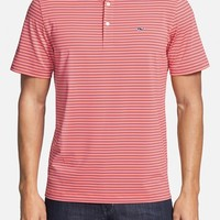 Men's Vineyard Vines 'Leeward Stripe' Classic Fit Stretch Golf Polo,