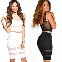 Pencil Skirt Bodycon Bandage Dresses