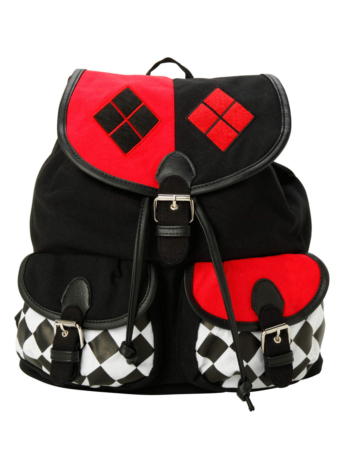 Batman Bedroom Decor Dc Comics Harley Quinn Slouch Backpack From Hot Topic