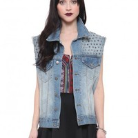 Studded Boyfriend Vest - Clothes | GYPSY WARRIOR