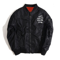 """Anti Social Social Club"" Unisex Kanye West Jacket [9321334919]"