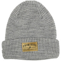 Primitive Apparel Core Logo Beanie - Heather Grey