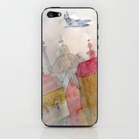 foggy morning iPhone & iPod Skin by Marianna Tankelevich
