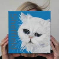Cat Custom Painting