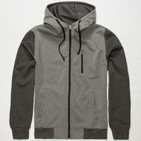 Brooklyn Cloth Breakin Mens Hoodie Charcoal  In Sizes