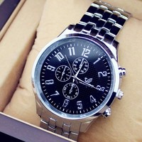 Men Stainless Steel Luxury Brand Watch