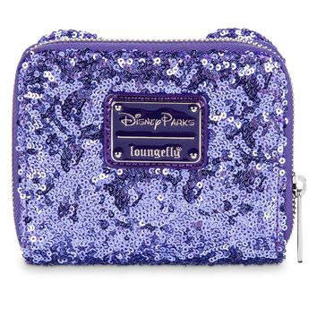 Disney Minnie Potion Purple Sequined Wallet by Loungefly New with Tags