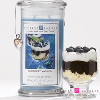 Blueberry Vanilla Jewelry Candle
