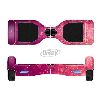The Unfocused Pink Glimmer Full-Body Skin Set for the Smart Drifting SuperCharged iiRov HoverBoard