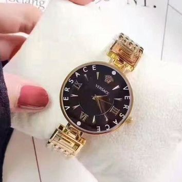 DCCKNQ2 Versace Women Fashion Quartz Movement Watch WristWatch3