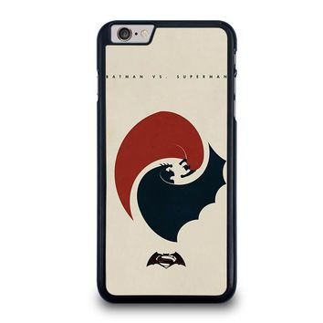 SUPERMAN VS BATMAN YIN YANG iPhone 6 / 6S Plus Case Cover