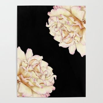 Roses - Lights the Dark Poster by drawingsbylam