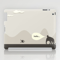 Hello iPad Case by simonfoo