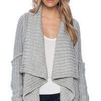 Bardot Meredith Cardigan in Gray