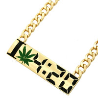 I LOVE 420 NECKLACE