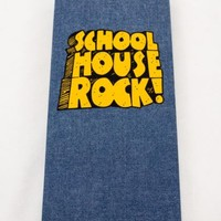 School House Rock 4 CD Box Set Denim Grammar Rock Science America Multiplication