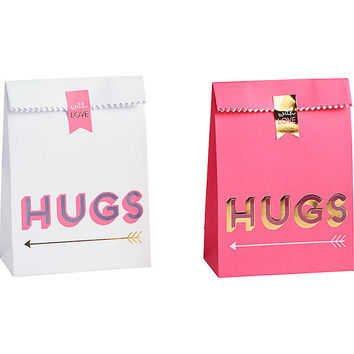 Treat Bags / Pink Bags / Gold Foil / Wedding Candy Buffet Bags, Candy Bar Bags, Wedding Candy Favor Bags, Wedding Favor Bags, Favor Bags