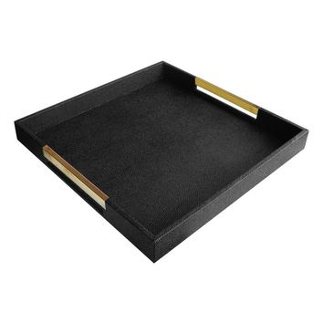 American Atelier Goldtone Handle Decorative Tray | Nordstrom