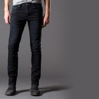 [Cult Logic] Skinny, Washed Jeans in Black