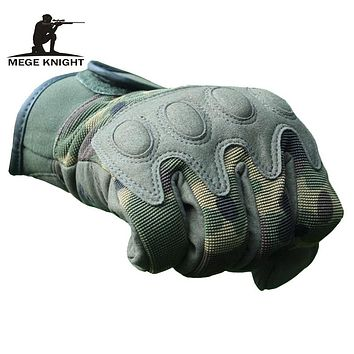 army camouflage tactical gloves military equipment tactical gear airsoft paintball men's gloves for train combat gloves