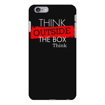 think outside the box thinker iPhone 6 Plus/6s Plus Case