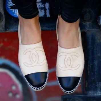 """Chanel"" Fashion Espadrilles For Women shoes"