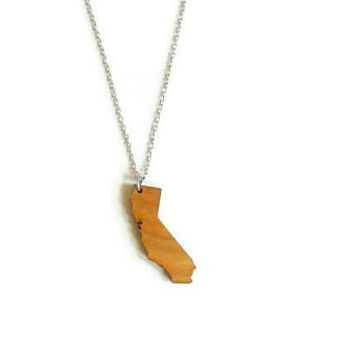 California necklace | California souvenir