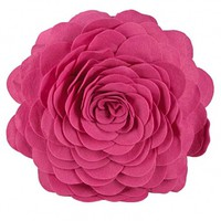 Wake Up Frankie - How I Felt Flower Dec Pillow - Candy Pink  : Teen Bedding, Pink Bedding, Dorm Bedding, Teen Comforters