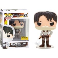 Cleaning Levi Attack on Titan Funko Pop! Vinyl Figure #239 Hot Topic Exclusive