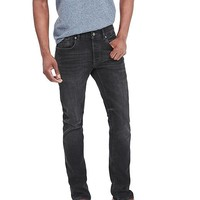 Banana Republic Mens Heritage Skinny Black Selvedge Jean