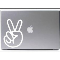 Peace Sign Car Window Vinyl Decal Tablet PC Sticker
