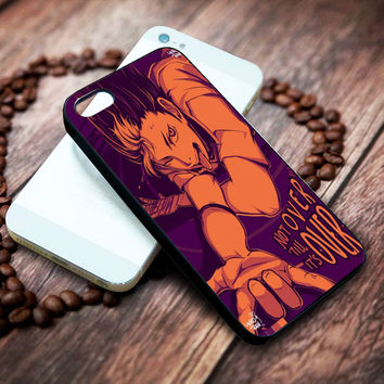 Nishinoya Yuu Haikyuu Iphone 4 4s 5 5s 5c 6 6plus 7 case / cases