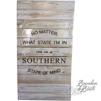 Southern Sayings Rustic Wooden Wall Art