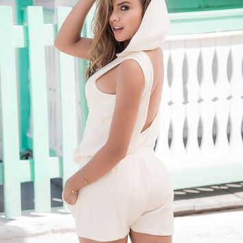 "Bikini Luxe ""Angel"" Romper Playsuit"