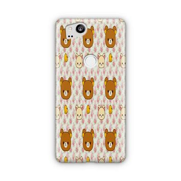 Cute Bear Rilakkuma Google Pixel 3 XL Case | Casefantasy