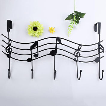 Music Notes Wall Hook