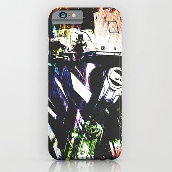Walk the line iPhone & iPod Case by HappyMelvin Graphicus