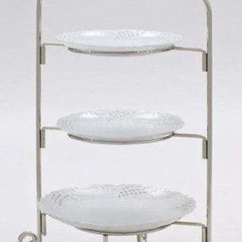 Silver 3 Tier Cake Stand
