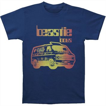 Beastie Boys Men's  Van Art Mens T T-shirt Navy