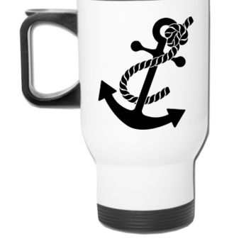 anchor - Travel Mug