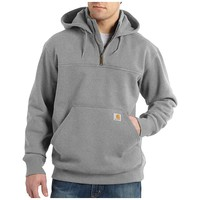 Carhartt Rain Defender Paxton Heavyweight Hooded Zip Mock Sweats - Men's