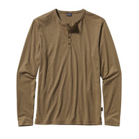 PATAGONIA MEN'S LONG SLEEVE DAILY HENLEY