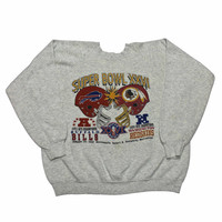 Vintage Super Bowl XXVI Buffalo Bills vs Washington Redskins Crewneck Sweatshirt Mens Size Large