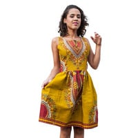 2016 Women Summer Dashiki Dress Robe Sexy Ladies African Print Dresses Sundress Short Vintage Bodycon Dress Clothing Indian