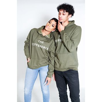 The Difference Hoodie- Olive