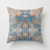 Tribal  Throw Pillow by Dream_scape