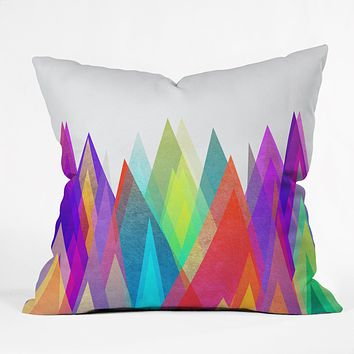 Elisabeth Fredriksson Colorland Throw Pillow
