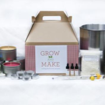 Complete DIY Beeswax Candle Making Kit (make 68 beeswax candles) Tealights, Tins and Votives