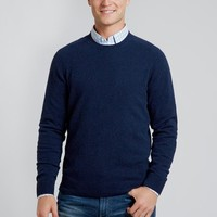 The Amalfi - Crew Neck - Navy